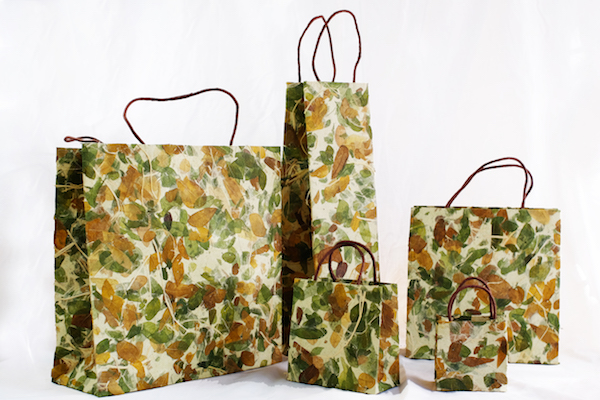 Botanical Green Raintree Bag
